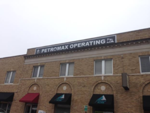 petromax operating business sign
