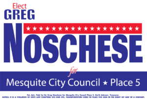 Yard Sign Noschese