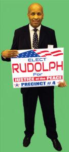 Yard Sign Rudolph